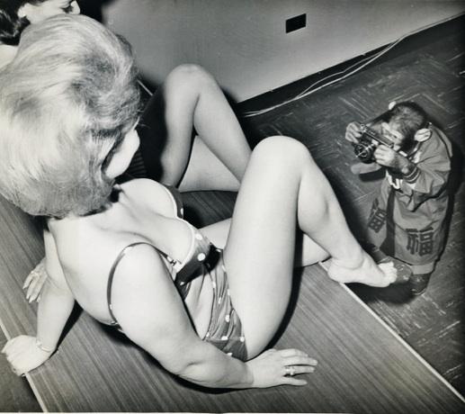 Lady with monkey