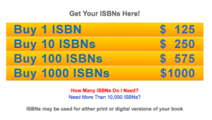 ISBNs for sale