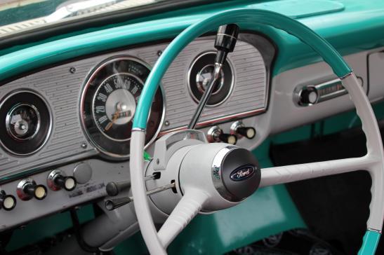 Steering Wheel Vintage Ford
