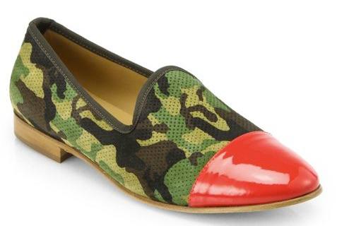 Camo slipper